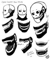 Gaster Jaw Study by APEX-Knight