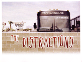 The Distractions Band Flyer 3 by LoranJSkinkis