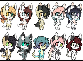 Adopt Batch Cheap 6 - CLOSED by DyeDy