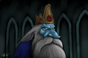 The Ice King by Tekka-Croe