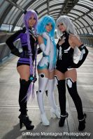 3 Goddesses by Saru-Cosplay