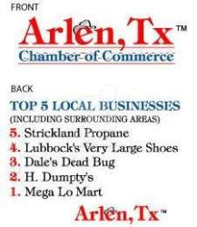 Arlen Texas The Chamber of Commerce by KareemCarzan