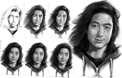 tutorial character realistic semi realistic on drawing tutorial
