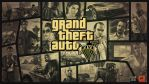 Grand Theft Auto V Gold Logo Wallpaper by eduard2009