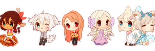 COM: Mini Cheebs 1-5 by Steamed-Bun