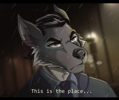 'This is the place...' by cybercortex