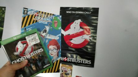 Three Pieces Of Ghostbusters Merchandise by OtakuDude83