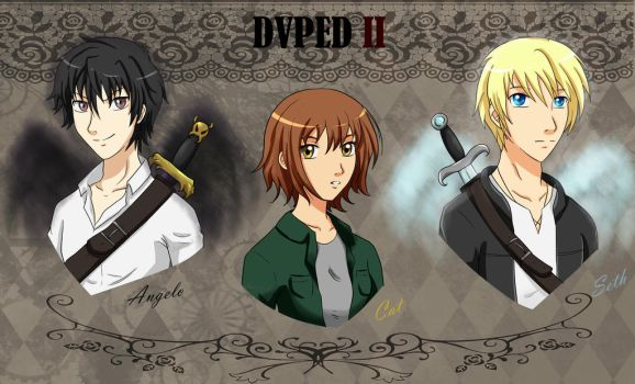DVPED II fanfic - Trio protagonista by cherry-427