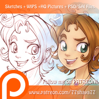 Follow me on Patreon! by 77Shaya77