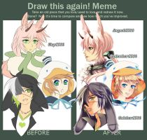 Draw this again meme II by LoRd-TaR
