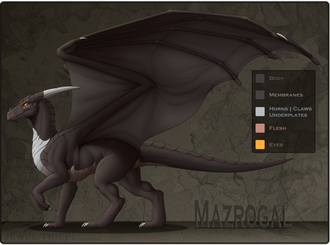 C - Reference - Mazrogal by Jewel-Thief