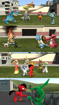 Crimson's pokemon (that are actully in Gmod) by kxp71
