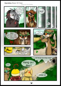 Operation: Rune Of Fate | Ch. 1 Page 13 by Skyrocker4cats