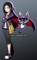 Brooke and Kalfumon by FlyKiwiFly