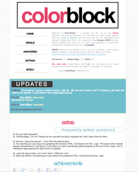 colorblock v6? by elenahboo