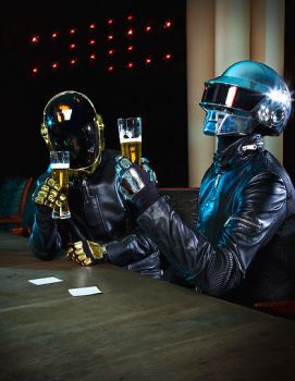 Daft Punk- Happy New Years by Lenore619-Void