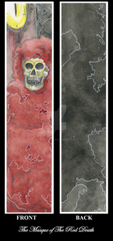 Bookmark: The Masque of The Red Death by mina-D