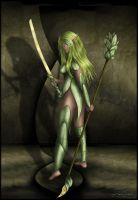 Dryad Fighter by Andecaya