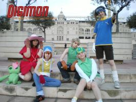 Digimon Group by DawnArts