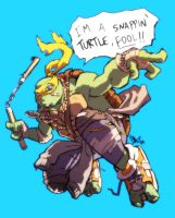 Im a snappin turtle, fool! by hugohugo