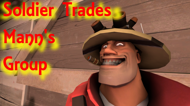 Soldier Trades Mann's Group by Nazokilla
