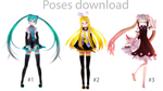 [MMD] Photoshoot 1 [Pose download] by MinuzNegative