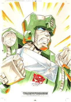 Kup #2 for Transformers IDW Limited Volume 2 by REX-203