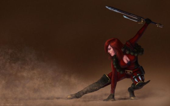 SWtoR - Commission - Ready For Anything by JoJollyArt