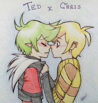 Ted x Chris by Nezu404