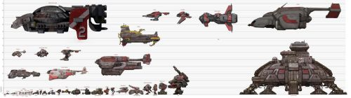 Starcraft to Scale: Terran Chart (old) by xiaorobear