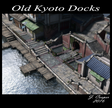 Old Koyto Docks by muddychickn