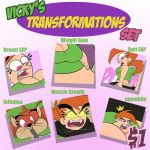 Vicky Transformations by TubbyToon