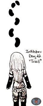 Inktober Day 22- Trail by vicfania8855