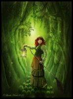 Enchanted Forest by Isriana