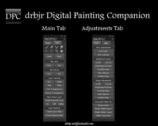 drbjr Digital Painting Companion PS CS6/CC - FREE! by drbjrart