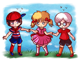 Mother 1 Crew  by Jrynkows
