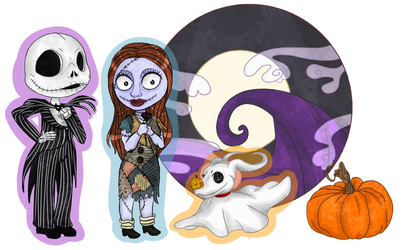 Nightmare before Christmas by ChaoticallyWicked