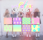 Fuck Off Colors Patterns by PrettyLadySwag
