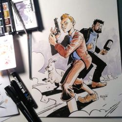 TinTin Commission by sumeyyekesgin