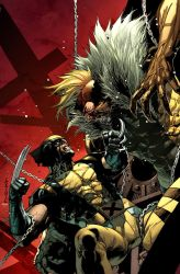 Wolverine 311 cover. by MarteGracia