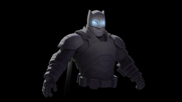 Batman Armored by jonadvargas