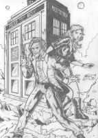 Doctor Who by kameleon84