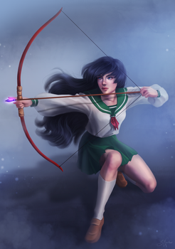 Kagome by SandraWinther