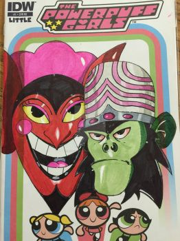 Mojo Jojo and Him by JasonScholte