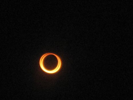 Solar Eclipse of 5/20/12 at 6:31:42 Local Time by Angel-of-Alchemy-42