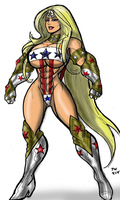 Lady Liberty's X-1 Super Suite by MaragrizX
