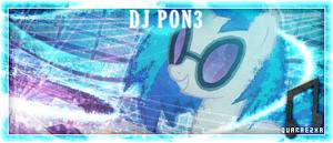[Sig] Tagwall | DJ Pon3 by Paradigm-Zero