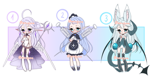 ADOPTS: Mixed Batch [2/3 OPEN] by Mewpyonadopts