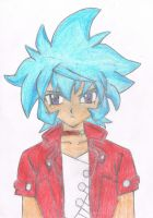Hikaru Hasama after colouring by sara-tarek