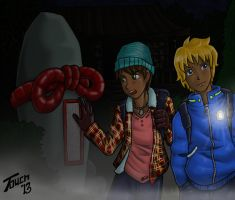 A Halloween Mystery Ben and Greg by Stonetouch